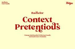 Bachelor Font Family - Vintage Bold Serif Font Feminine Styl Product Image 2