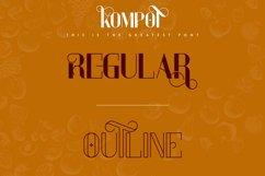 Kompot Display - 2 fonts Product Image 4