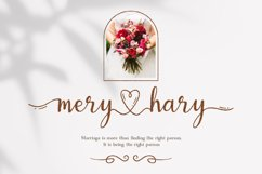 Wonderful Lovely - a Romantic Script Font Product Image 2
