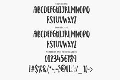 Web Font Outlines - a fun quirky handwritten font Product Image 2