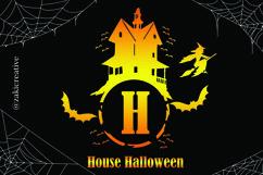 House Halloween Monogram Product Image 3