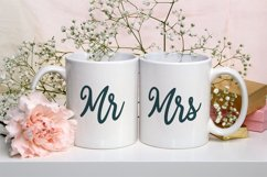 Bride and Groom - A Wedding Font Duo Product Image 2