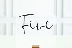 Last Night - Handwritten Font Product Image 4