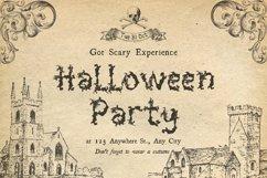 Halloween Sale Font Bundle Product Image 5