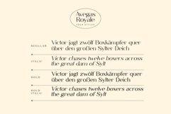 Avegas Royale - Modern Sans Product Image 2
