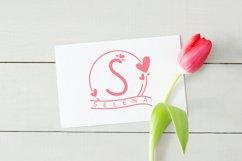 Monogram Handrawn Love Product Image 4