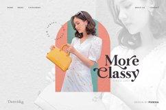 Danviska - An Elegant Modern Serif Font Product Image 5