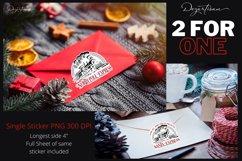 Santa Express and North Pole Express Sticker Set Product Image 1
