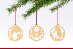 Laser Cut Files Vol.3 - 50 Animal Ornaments Bundle Product Image 2