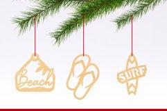 Laser Cut Files Vol.4 - 50 Summer Ornaments Bundle Product Image 2