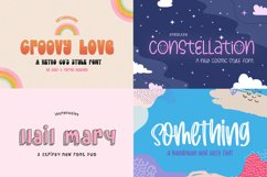 The Cute Craft Font Bundle Product Image 3