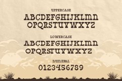 West Yard - Western Display Font Product Image 5