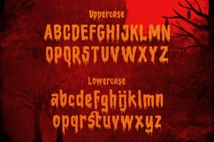 Bloody Camp - a Horror Blood Font Product Image 4