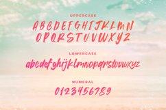 Summer Blaze - Summer Brush Font Product Image 6