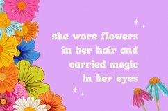 Flower Power Font Product Image 2