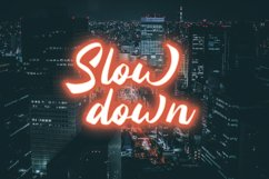 Silintho - Bold Script font Product Image 2