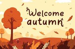 Orange Leafy - Autumn Display Font Product Image 2