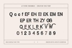 Le Vivre Ensemble - Bold SVG Type Product Image 4