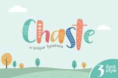 Chaste Display 3 Font Product Image 1