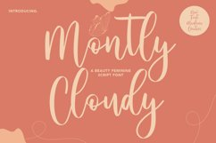 Montly Cloudy Beauty Script Product Image 1