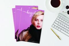 keysha modern calligraphy Product Image 6