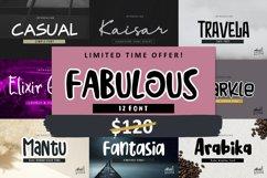 Fabulous Font Bundle Product Image 1