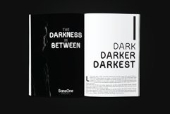 Sans One Font family Product Image 3