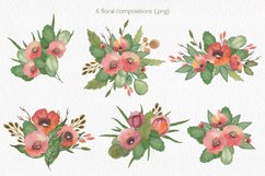 Spring florals. Watercolor floral collection. Product Image 2
