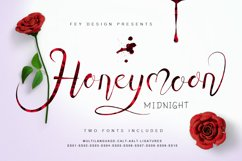 Honey Moon Midnight Two Fonts Product Image 1