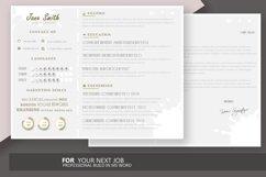 Resume Template Horizontally Product Image 4