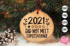 2021 Christmas Ornaments Bundle, Funny Ornament Sayings Svg Product Image 4