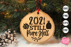 2021 Christmas Ornaments Bundle, Funny Ornament Sayings Svg Product Image 2
