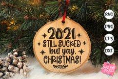 2021 Christmas Ornaments Bundle, Funny Ornament Sayings Svg Product Image 3
