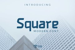 Square - Display Games Font Product Image 1