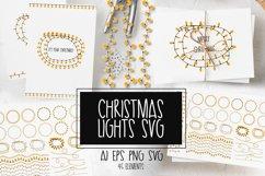 Christmas lights svg Product Image 1