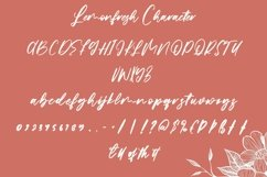 Web Font Lemonfresh - Handwritten Font Product Image 5