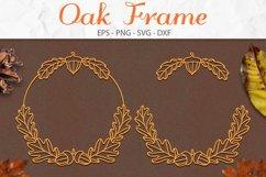 Oak Leaf, Fall SVG, Leaves SVG, Autumn Wreath SVG Product Image 1