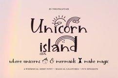Unicorn Island Font and Dingbats Product Image 1