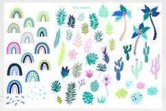 Nursery Art Jungle Animals Illustrations Patters & More Bund Product Image 5