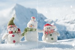 Real Snow Photoshop Action Product Image 2