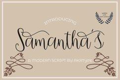 samantha script Product Image 1