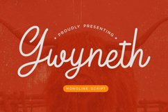 Gwyneth Monoline Script Product Image 1