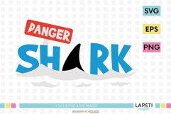 Shark svg, shark clip art, shark png for sublimation Product Image 1