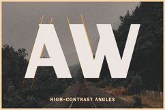 Fonts for Maps   Vintage Industrial   Riverwest Product Image 6