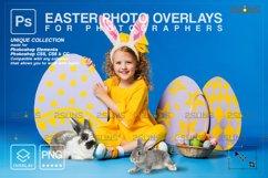Photoshop overlay Easter bunny overlay Product Image 1