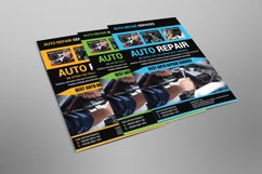Auto Repair Flyer Design Product Image 2