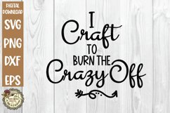Craft Humor SVG Bundle-Funny Crafter Quotes-Crafting Time Product Image 4