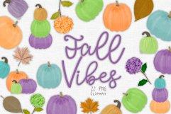 Fall Pumpkin Clipart Set Product Image 1