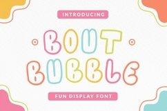 Web Font Boutbubble Font Product Image 1