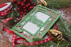 Happy Holidays Invitation cutting file Product Image 3
